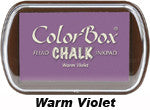 Fluid Chalk Warm Violet ColorBox Pad by Clearsnap