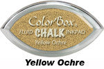 Yellow Ochre Fluid Chalk Cat's Eye Ink Pad