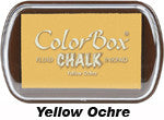 Fluid Chalk Yellow Ochre ColorBox Pad by Clearsnap