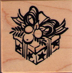 Present Rubber Stamp