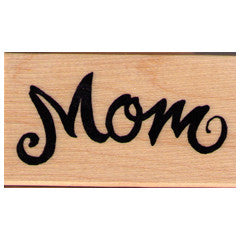 Mom Rubber Stamp