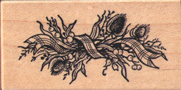 PSX Hedgerow Spray Rubber Stamp