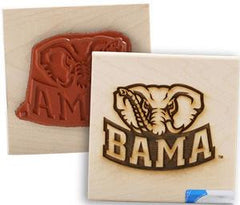 University of Alabama Rubber Stamp