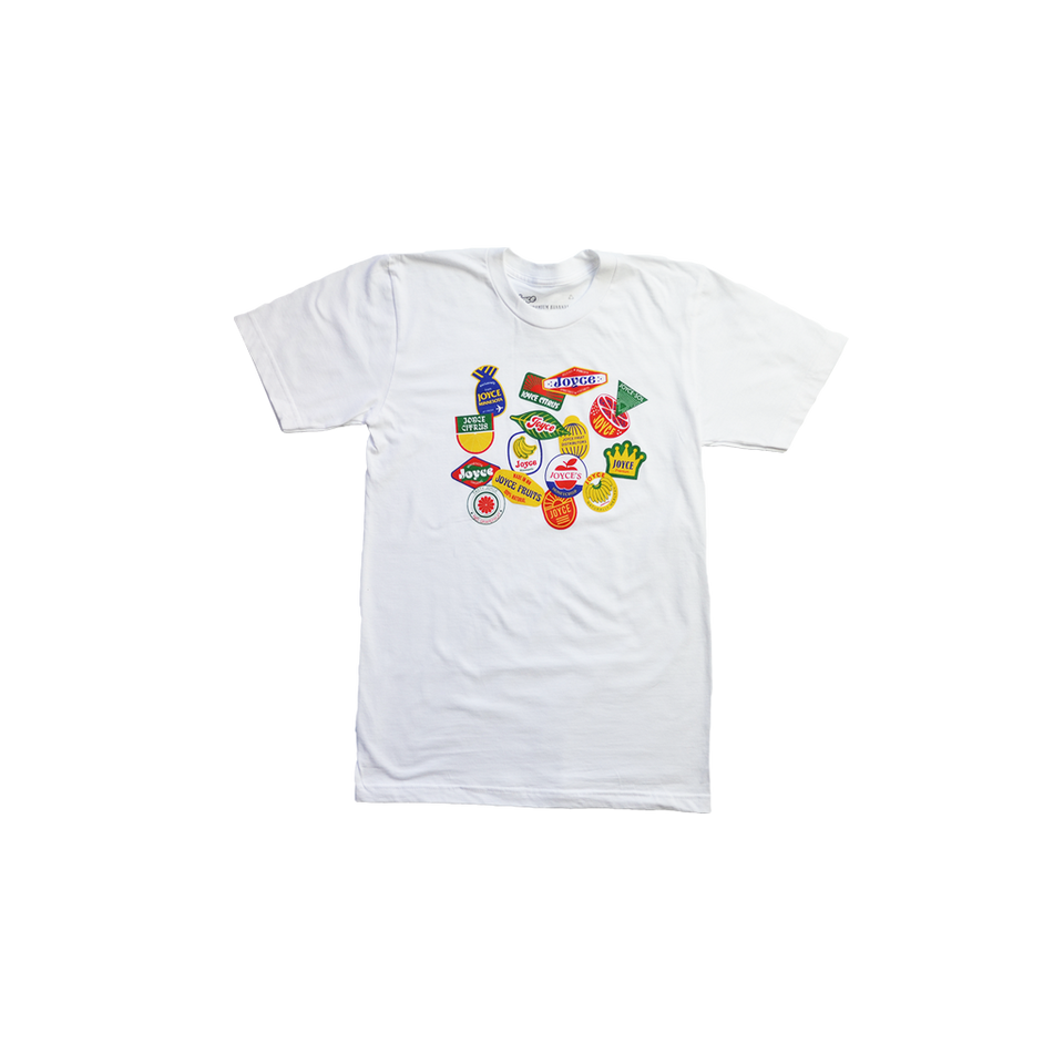 FRUIT STICKER TEE