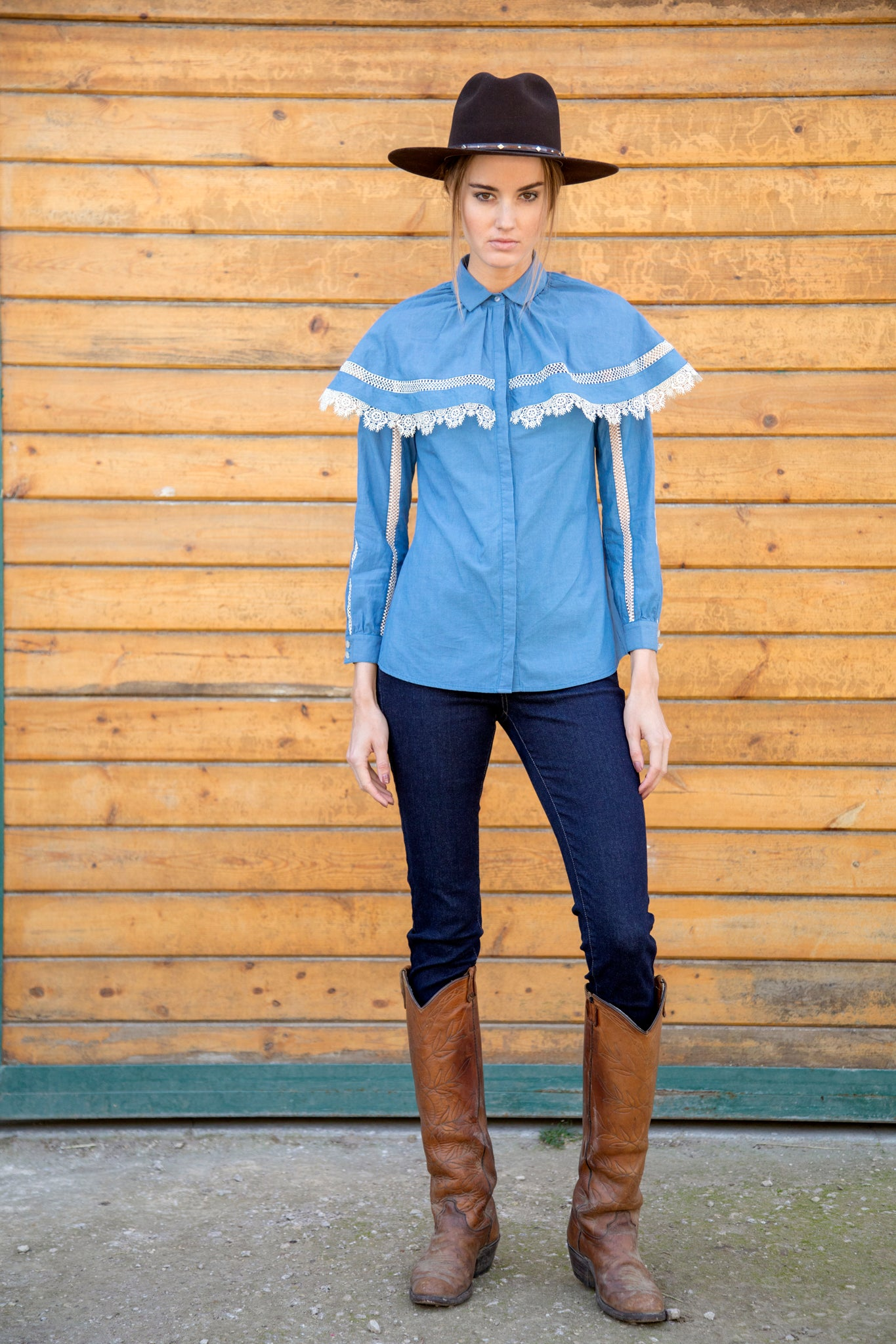 Chambray Filly Blouse