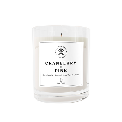 Cranberry x Pine Soy Candle