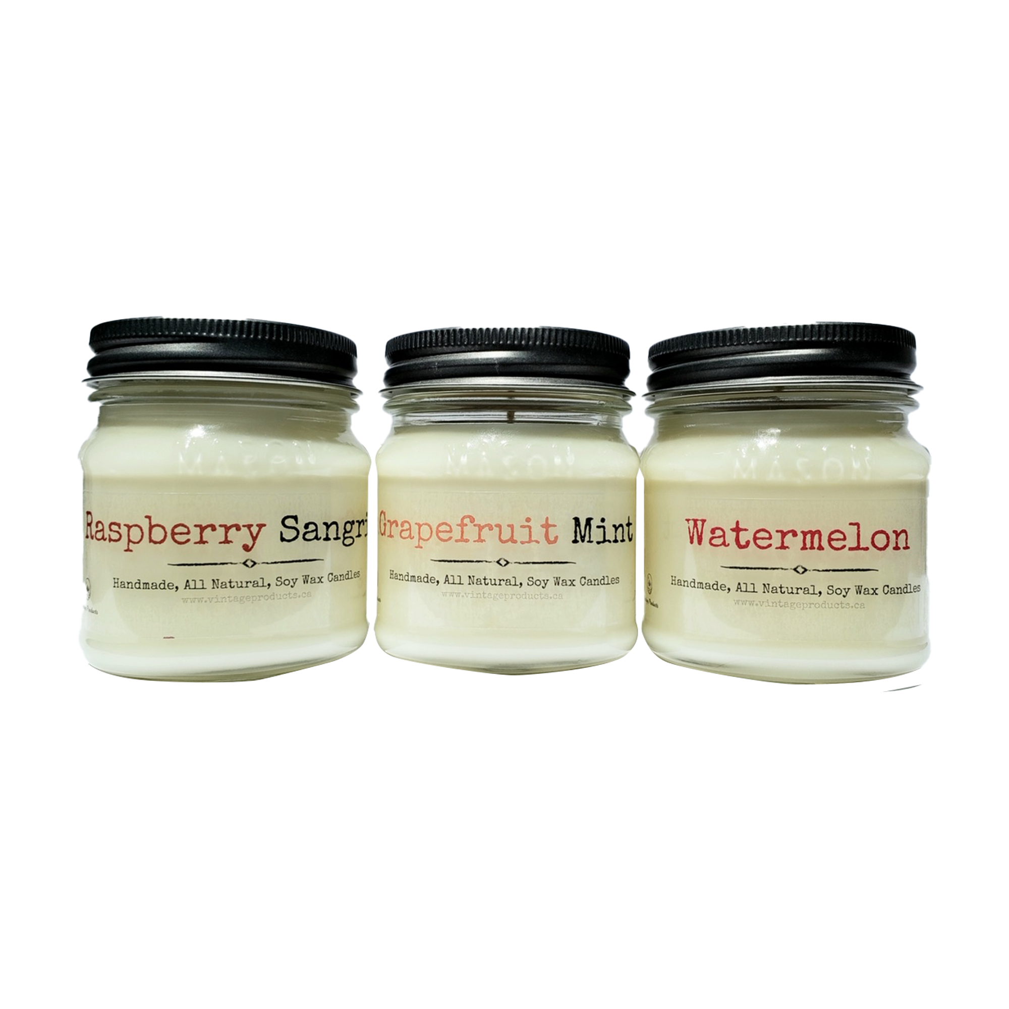 Fruity & Soothing Soy Candle Set (3 Set)