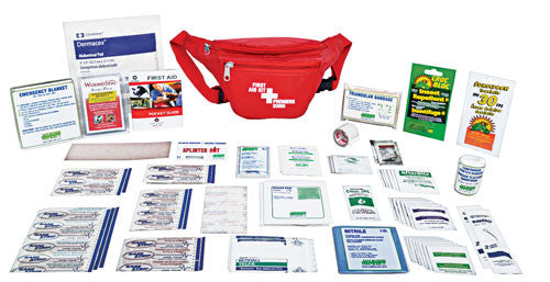 Hikers' Standard First Aid Kit, Nylon Soft Pack, Small