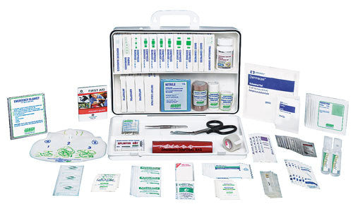 Marine & Boating Deluxe First Aid Kit, 36 Unit, Plastic Box