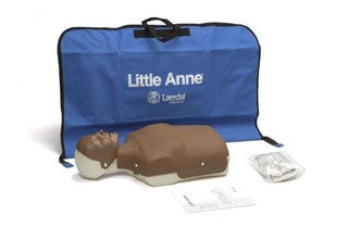 Dark Skin Little Anne with Soft Pack/Training Mat