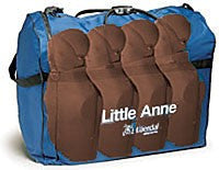Dark Skin Little Anne 4 Pack with Training Mats
