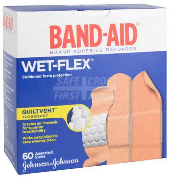 Band-Aid Brand Wet-Flex Foam Bandages