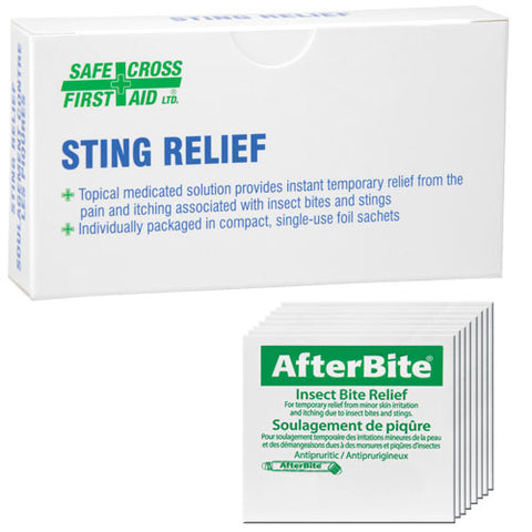 After Bite, Treatment Pads, 10/Unit Box
