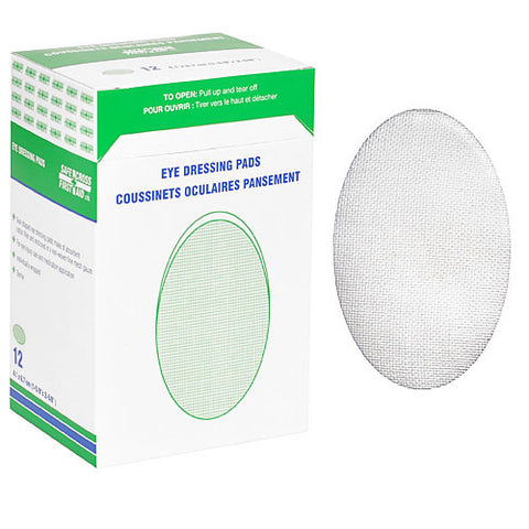 Eye Dressing Pads, 12/Box