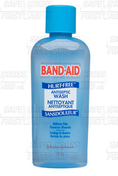 Band-Aid Brand Hurt-Free Antiseptic Wash, 177 mL