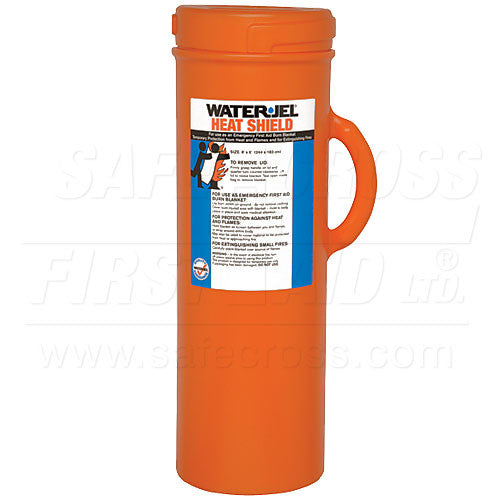 Water-Jel, Burn Wrap/Extinguisher In Canister, 182.9 x 243.8 cm (72``x 96``)