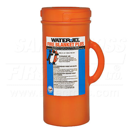 Water-Jel, Burn Wrap/Extinguisher In Canister, 152.4 x 182.9 cm  (60``x 72``)