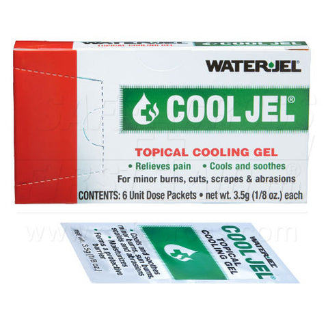Water-Jel, Cool Jel, 3.5 g, 6/Unit Box
