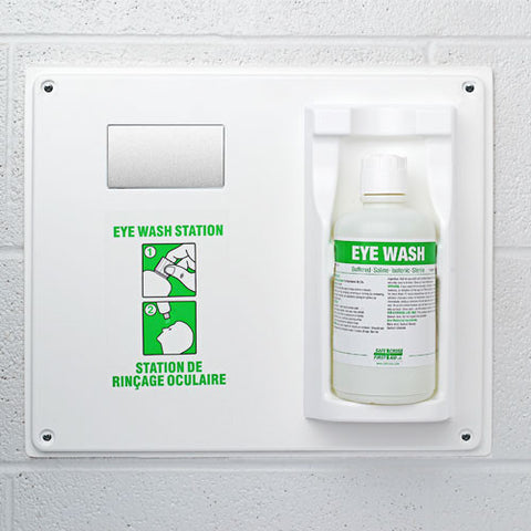Eye Wash Single Station with Solution