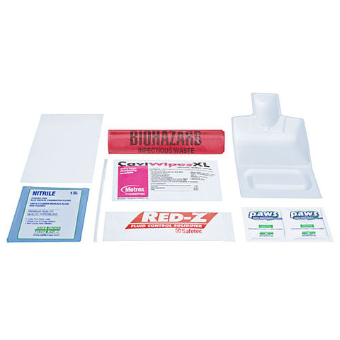 Biohazard Clean-Up Spill Kit, Standard