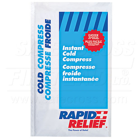 Cold Pack, Instant, Large Insulated, 15.2 x 22.9 cm