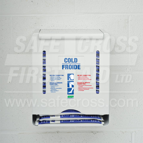 Cold/Hot Pack Wall Dispenser - White