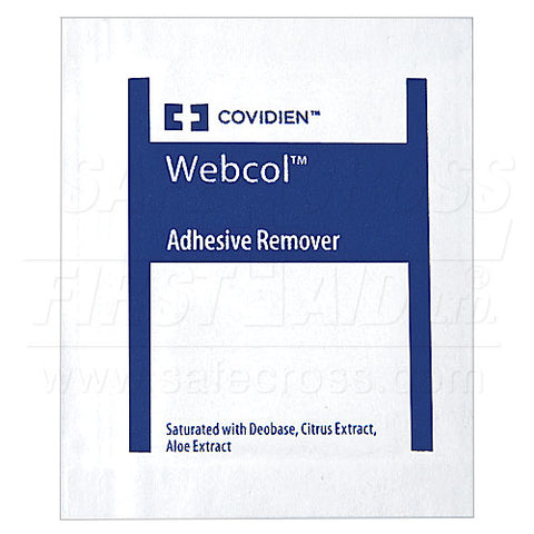 Adhesive Remover Wipes -  100's