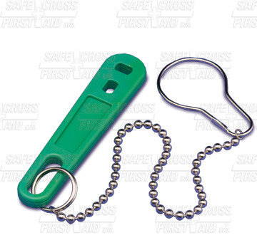 Oxygen Cylinder Wrench with Strap