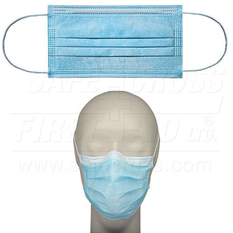 Face Mask, Surgical, with Ear Loops, 50/Box