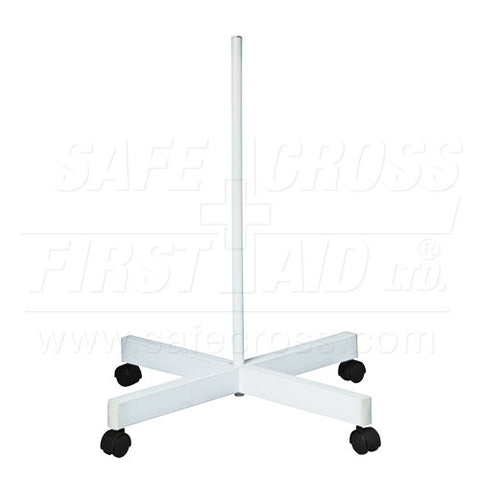 Luxo Floor Stand with Casters, For Item 19891, White