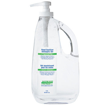 Hand Sanitizer, Antiseptic Gel, 1893 ml (64 oz)