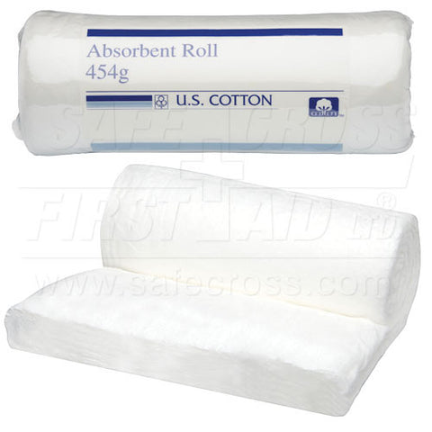 Absorbent Cotton Roll, 454 g