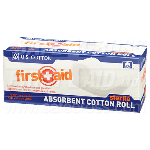 Sterile Absorbent Cotton Roll - 454 g