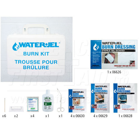 Water-Jel, Emergency Burn Kit, II