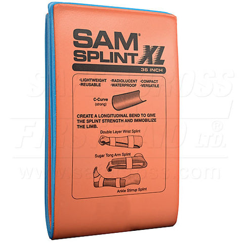 Sam Splint, 14 x 91.4 x 0.5 cm, Extra-Large