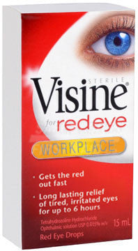 Visine Workplace Eye Drops