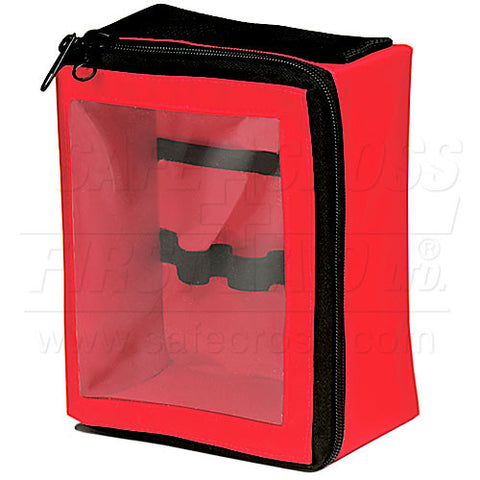 Nylon Trauma Bag Insert, Red, 19.1 x 14.6 x 9.5 cm