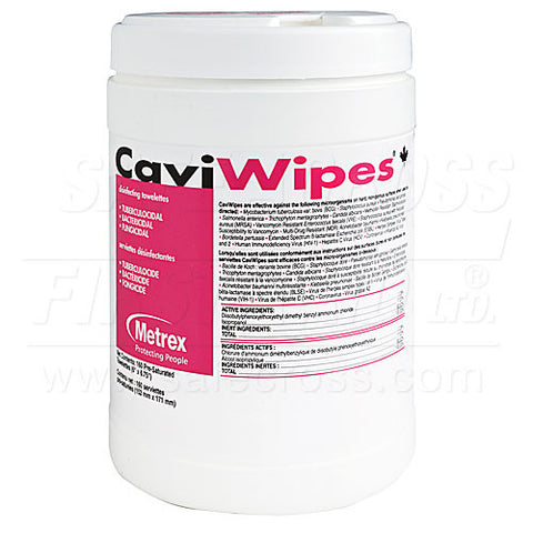 Caviwipes, Surface Disinfectant/Cleaner, Canister