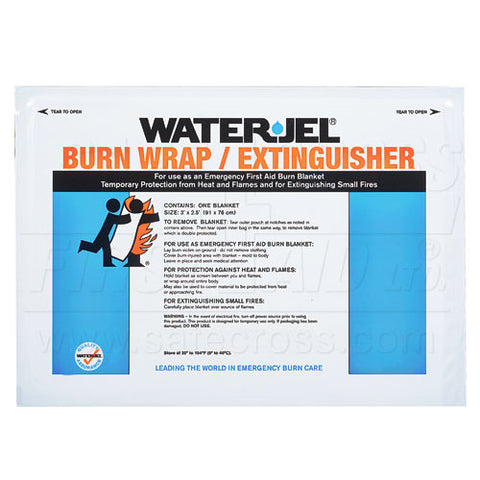 Water-Jel, Burn Wrap/Extinguisher, 76.2 x 91.4 cm