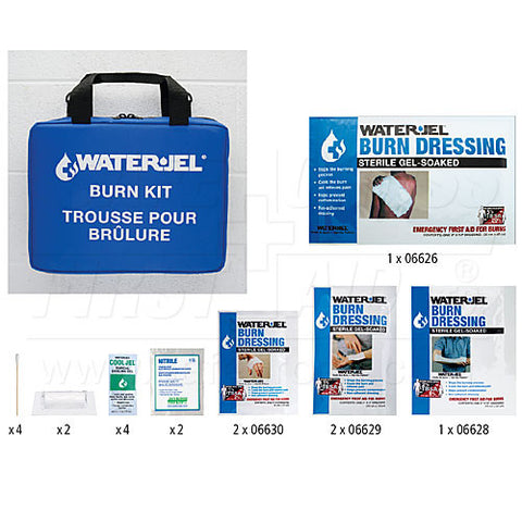 Water-Jel, Emergency Burn Kit, V