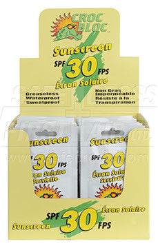 Croc Bloc, Sunscreen Lotion, SPF 30, 10 mL, 50/Box