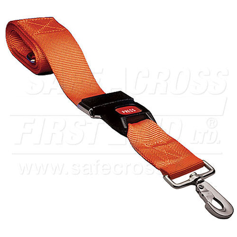 Restraint Strap w/Swivel Speed Clip & Automotive-Type Buckle