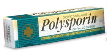 Polysporin, Ophthalmic Eye Ointment, 3.5 g