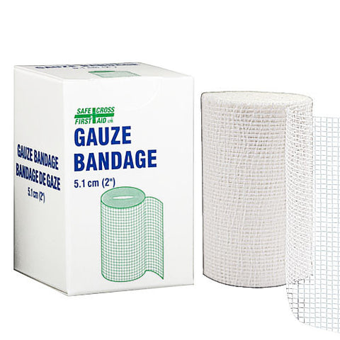 Gauze Bandage Roll, 5.1 cm x 9.1 m, 1/Unit Box