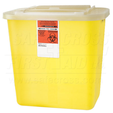 Sharps/Biohazard Collector, 7.56 L