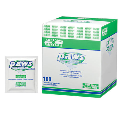 Paws, Antimicrobial Hand Towelettes