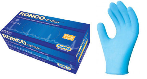 Gloves Nitech - No Talc - Extra Large