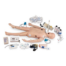 Deluxe Child CRiSis Manikin with ECG Simulator