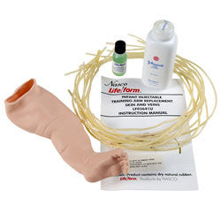 PALS Leg Skin & Vein Replacement, Infant CRiSis Manikin