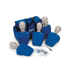 CPR Prompt® Training and Practice Manikins Adult/Child 5-Pack